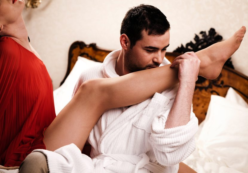 comment faire un massage sensuel Le Robert