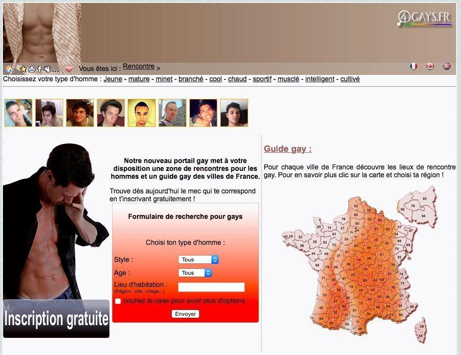 4gays, la rencontre gay en France.