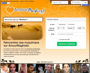 Amour Maghreb - rencontre musulmane