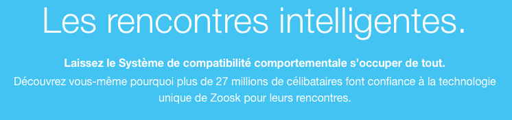Zoosk - des rencontres intelligentes!