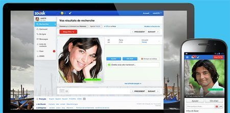 Zoosk tchat et application iPhone