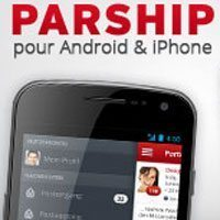 Parship sur iphone et android