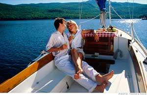 Couples et célibataires riches.