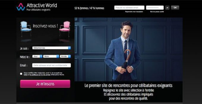 Attractive World : le site de rencontre