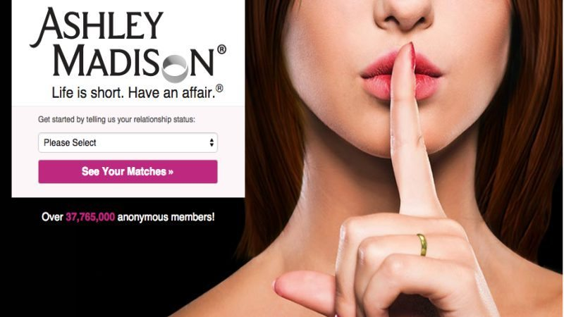 Ashley-Madison s'est fait pirater.