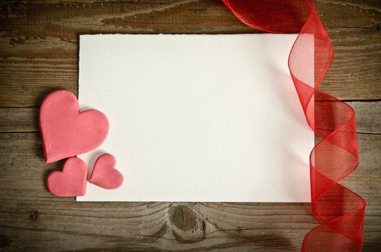 Une lettre d'amour pour la st-valentin
