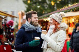 Le romantisme du marché de Noel. Un must !